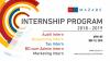 MAZARZ internship program 2018-2019