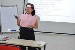 Một số giờ giảng dạy của cô Trần Lê Na