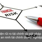 Nhận diện rủi ro tài chính và giải pháp ổn định an ninh tài chính doanh nghiệp