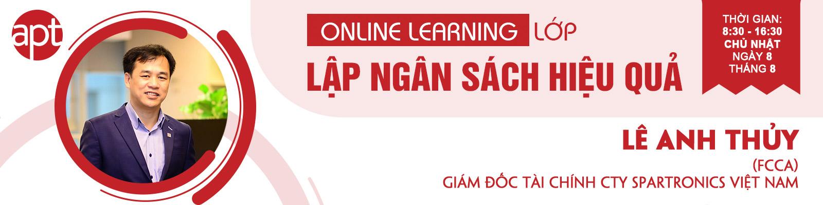 khóa học trực tuyến kế hoạch lập ngân sách